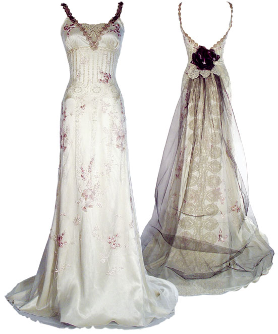 Claire Pettibone Wedding Dress: WANTED: Claire Pettibone 'Midnight' Gown