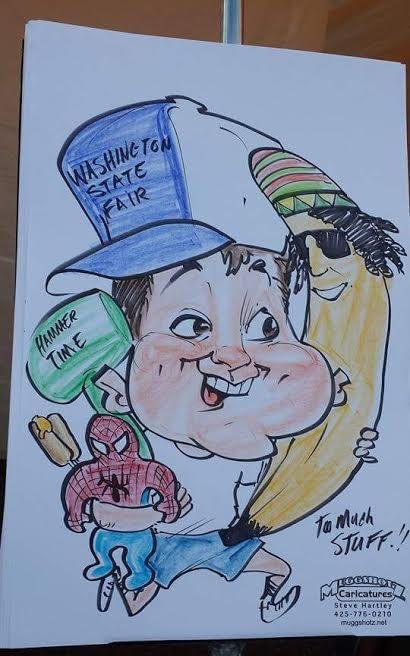 muggshotz caricatures caricature artist seattle wa