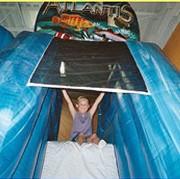 Kangaroo Kids Inflatable Party Center - thumbnail image