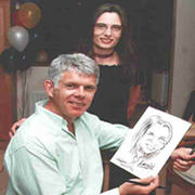 Christopher Murphy ~ Bar/Bat Mitzvah Caricature - thumbnail image