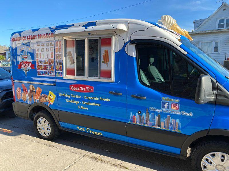 Chicago Ice Chicago Ice Cream Truck Ice