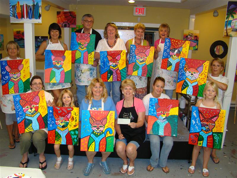 Painting with a twist tampa fl for Kids paint party