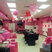 Spa party for girls birthday long island glamour parties - Dreamz salon and spa ...